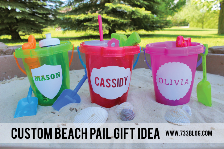 Custom Beach Pail