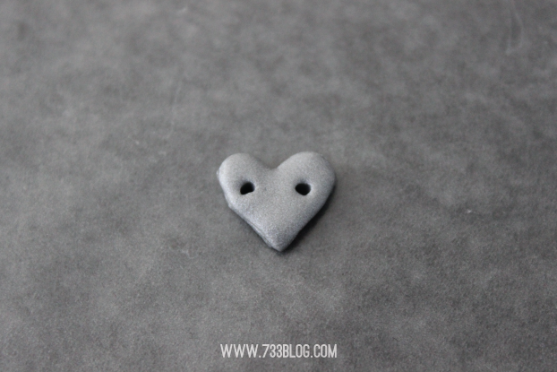 Clay Heart Anklet
