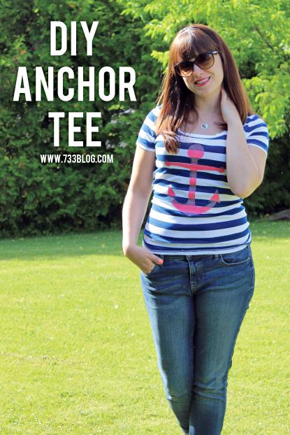 DIY Anchor Tee