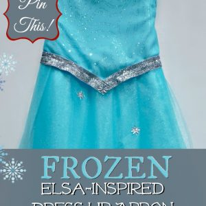 FROZEN-Inspired Queen Elsa Dress Up Apron Tutorial