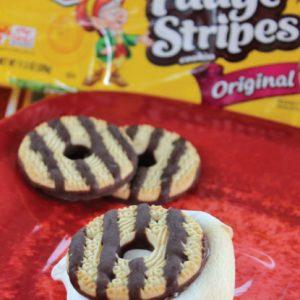 Fudge Stripes Cookie S'mores