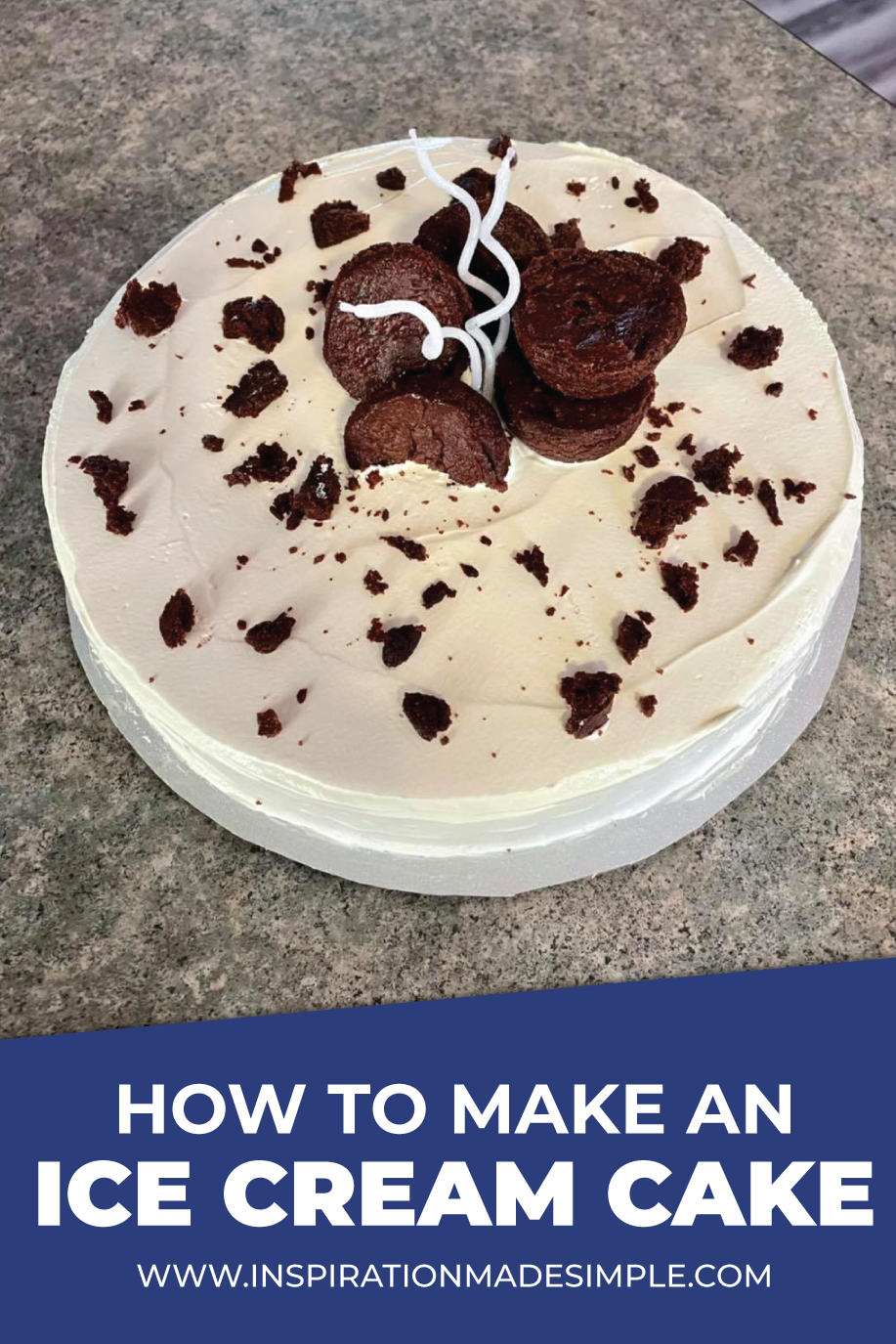How to make an ice cream cake with this simple recipe