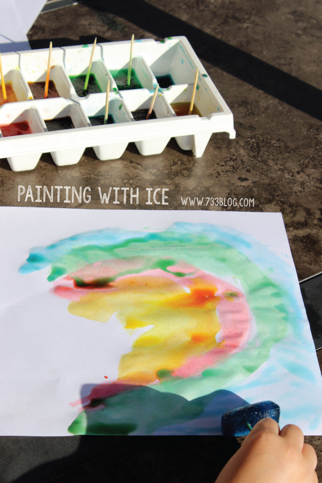 Summer Activity: Painting with Ice