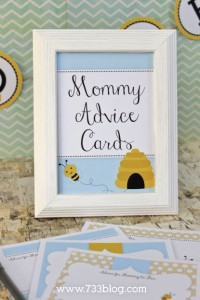 Mommy to Bee Advice Cards