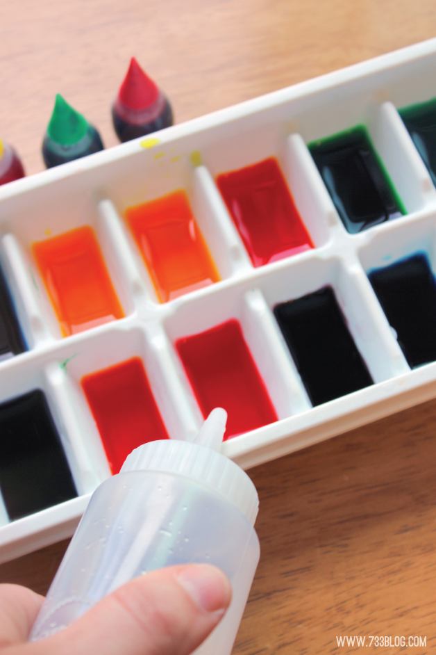 DIY Ice Paints