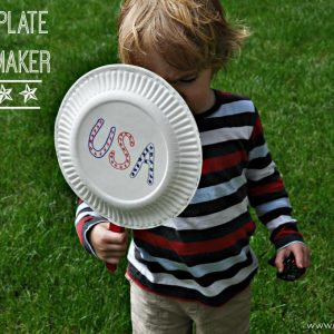 Paper Plate Noise Maker