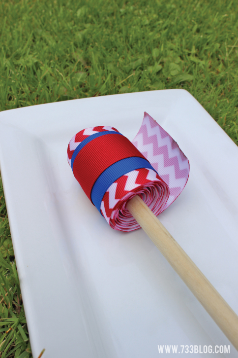Patriotic Ribbon Wand