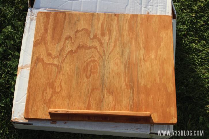Minwax Wipe-On Stain in Maple