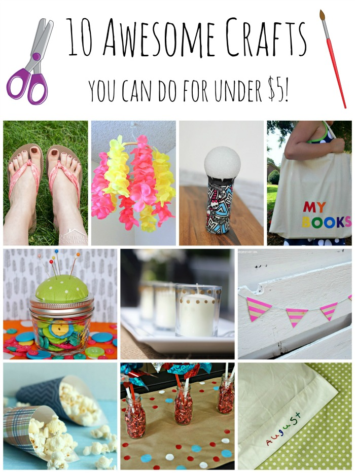 $5 Craft Ideas