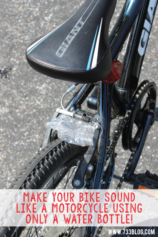 Turn your bike into a loud, noisy machine!