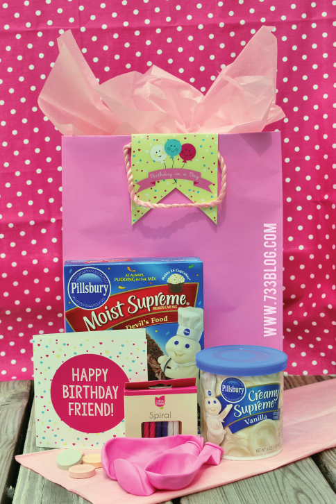 Birthday in a Bag Gift Idea