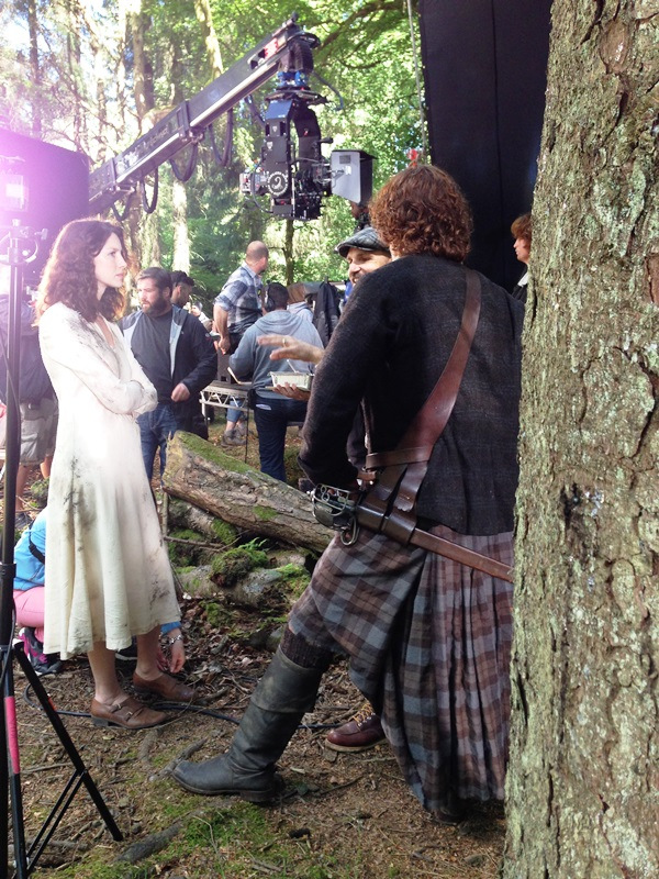 Caitriona Balfe as Claire Fraser #Outlander