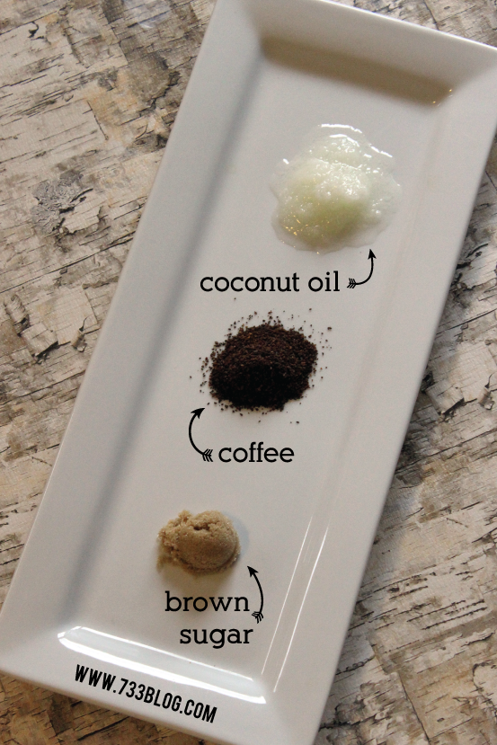 3-Ingredient Coffee Scrub