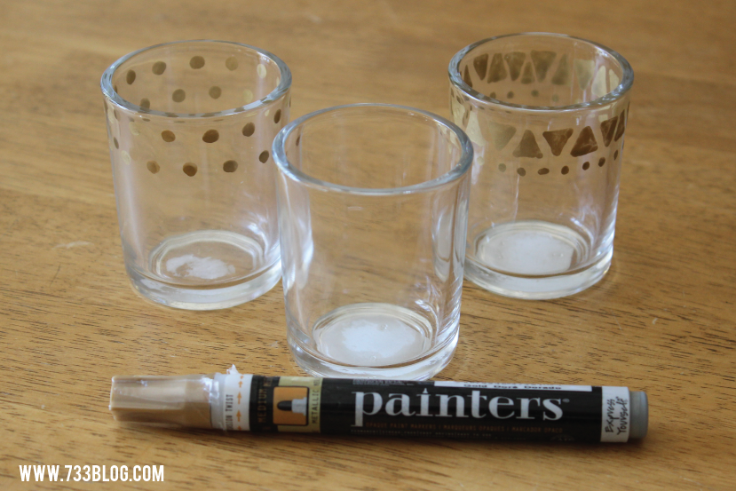DIY Votive Holders