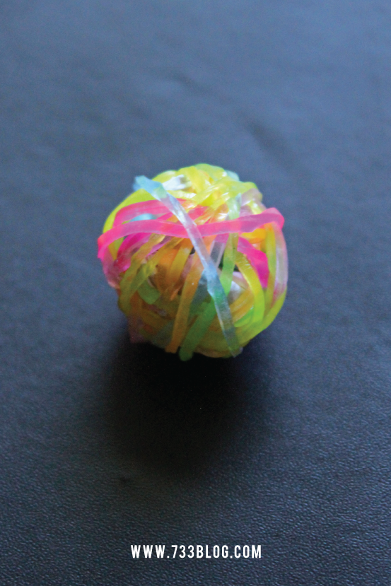 Rubber Band Bouncy Ball