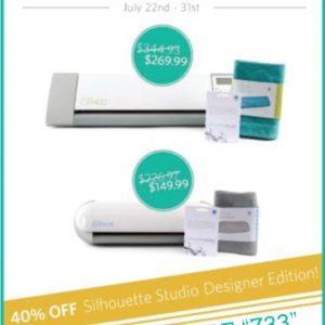 Silhouette Studio Designer Edition 40% Off