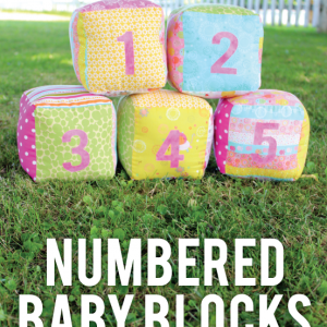 Soft Number Baby Blocks #CreativeBuzz