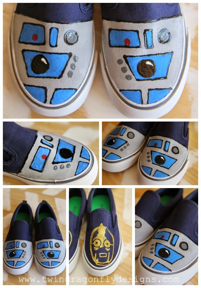 Star Wars Shoe Tutorial