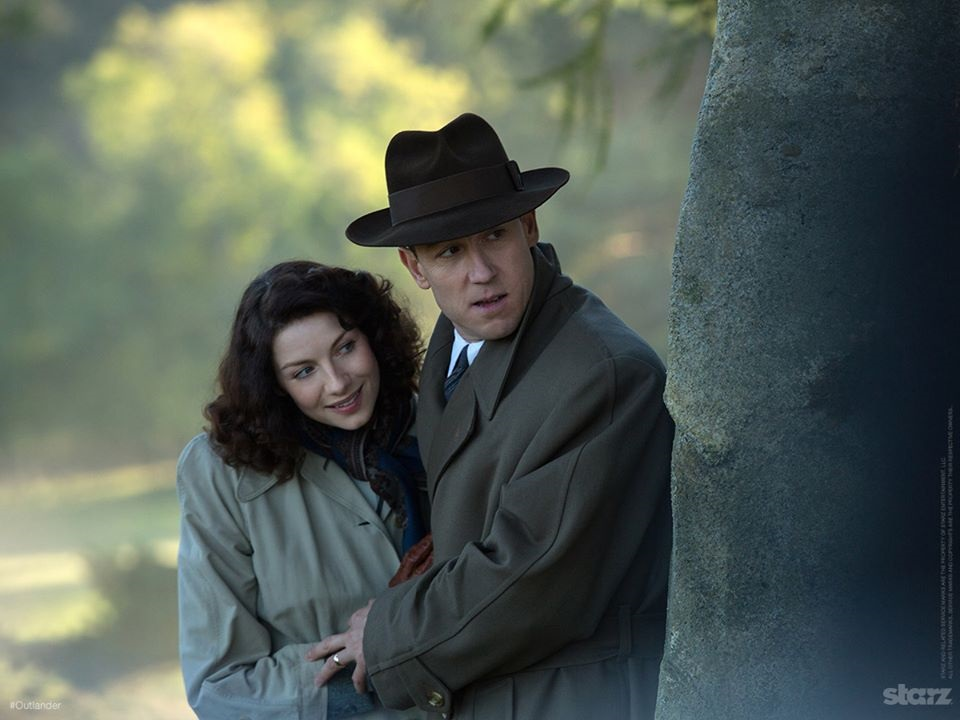 Outlander's Claire and Frank Randall