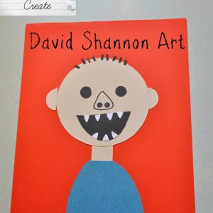 David Shannon Art Kid's Craft