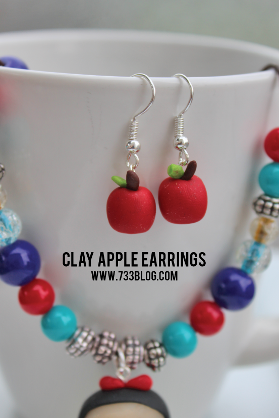 Apple Earring Tutorial