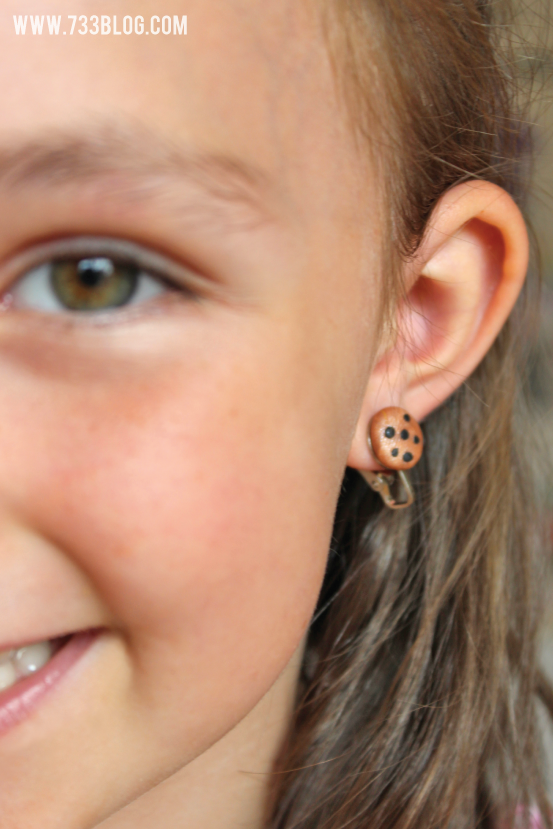 DIY Kids Clip On Earrings
