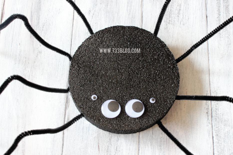 DIY Foam Spider