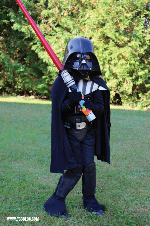Darth Vader Halloween Costume for Kids
