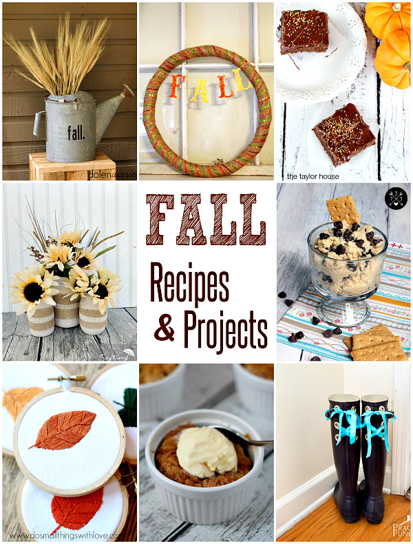 8 fun fall recipes & projects