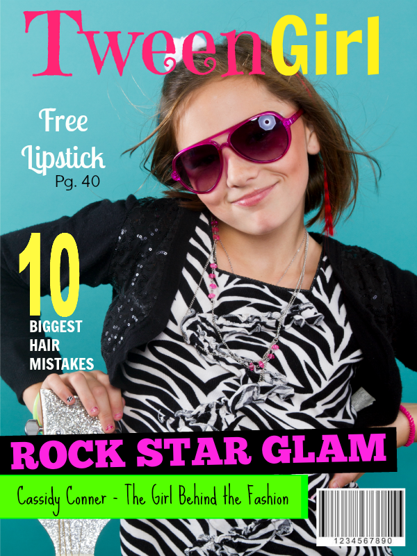 How to make a Faux Magazine Cover with PicMonkey