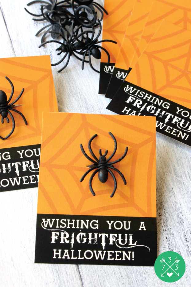 Printable Halloween Treat Cards