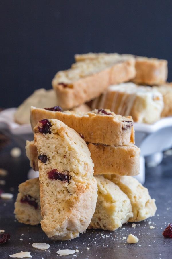 Authentic Cranberry and Almond Biscotti Recipe