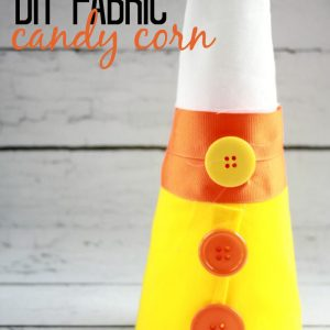 Fabric Candy Corn Decor