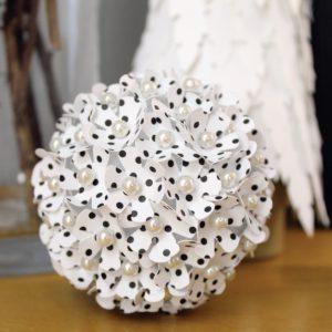 DIY Floral Ornament