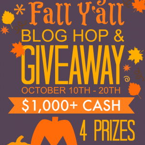 All Things Fall Y'all Blog Hop