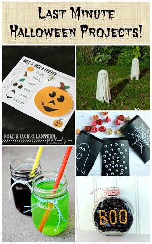 Last Minute #Halloween Project Ideas