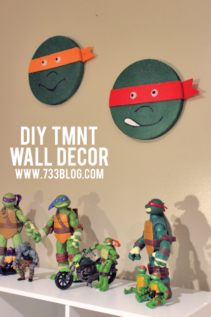 Teenage Mutant Ninja Turtle Wall Decor