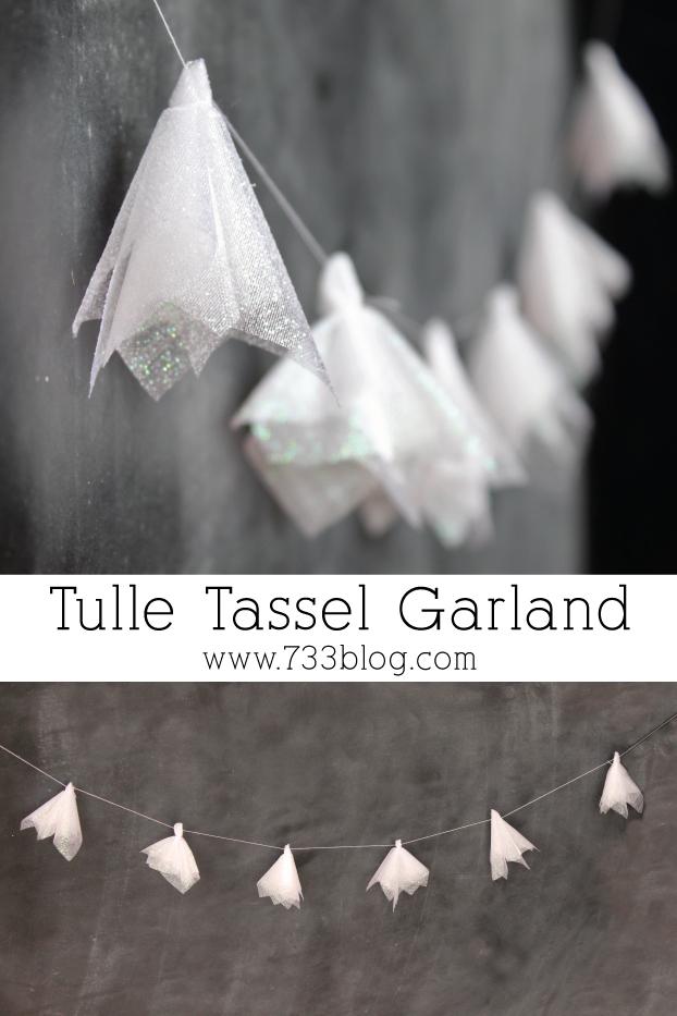 Tulle Tassel Garland