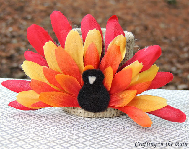 Flower Turkey Kids Craft
