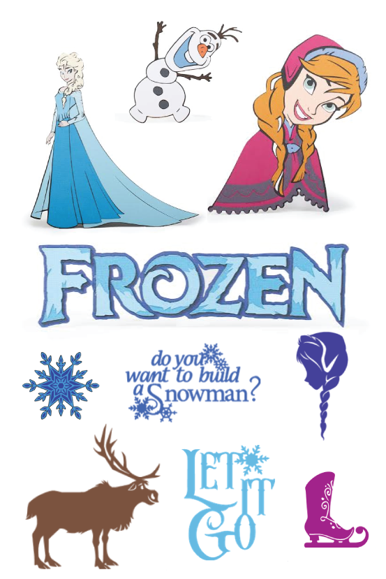 FROZEN Cartridge for Cricut Explore Available NOW!