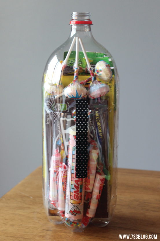 Movie Snacks in a Bottle Gift Idea