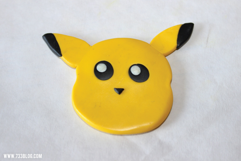 Pikachu Clay Christmas Ornament