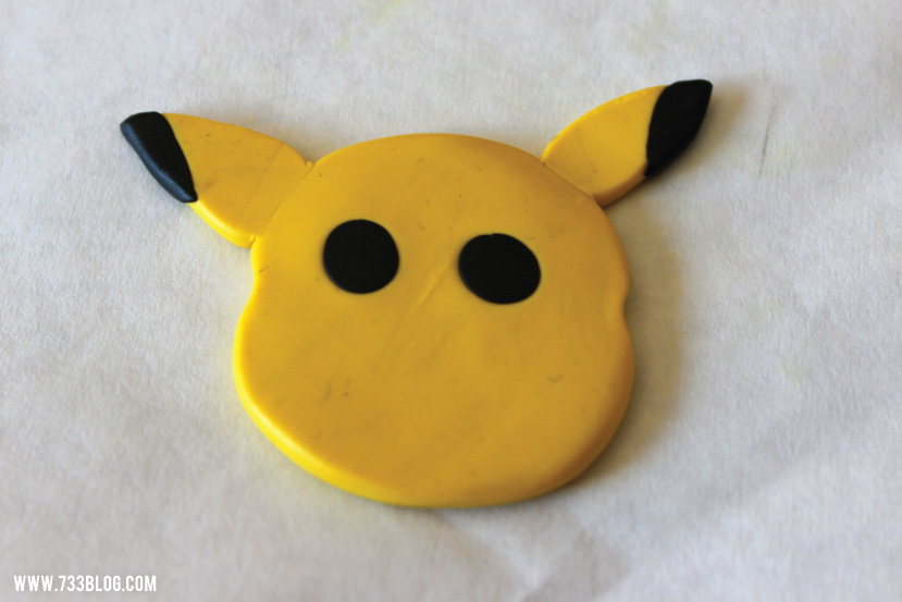 Clay Pikachu Ornament Tutorial