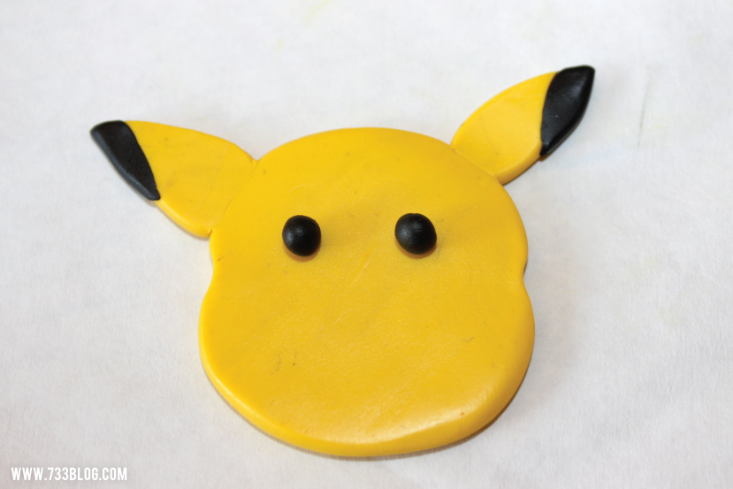Clay Pokemon Ornament