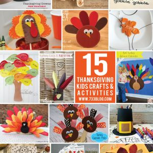 Thanksgiving Kids Craft & Activities