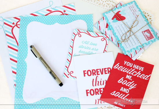 Woo your significant other all year long with this printable Love Letter Pack!