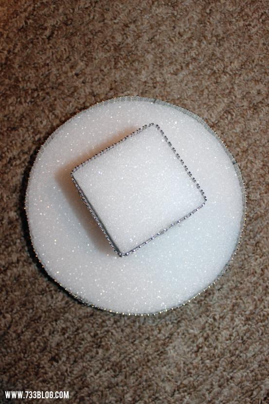 Foam Cupcake Stand Tutorial