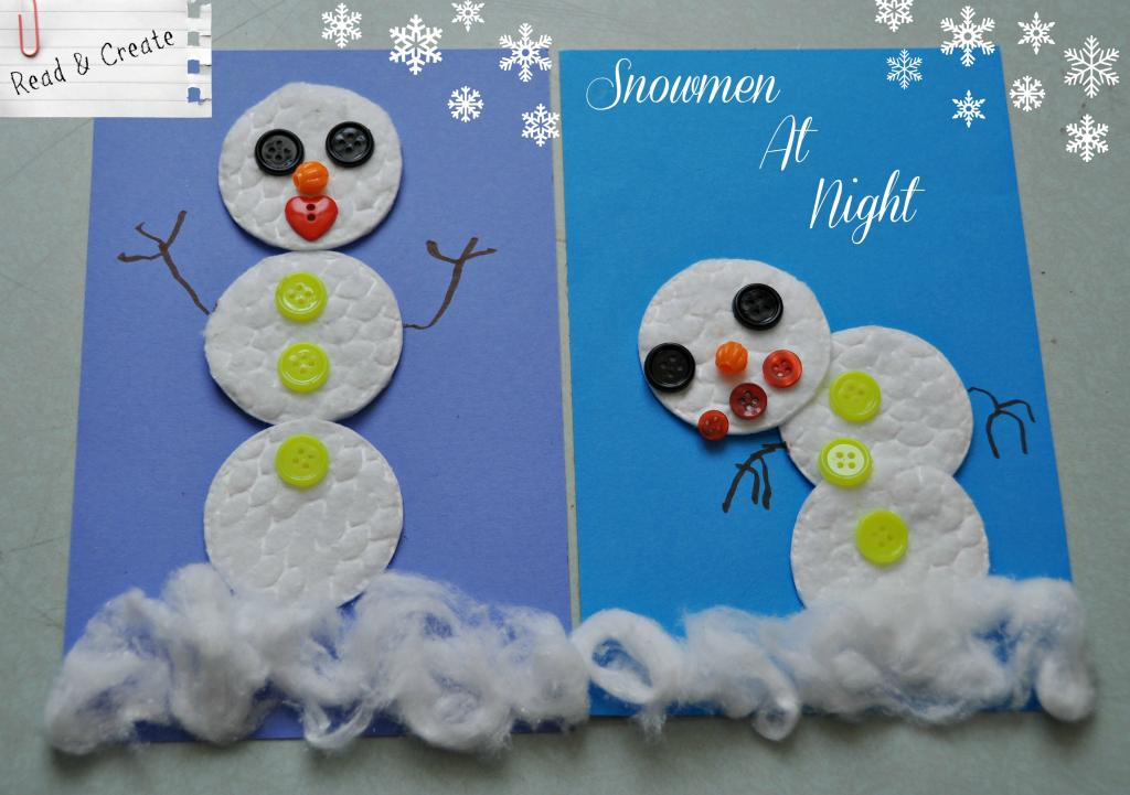 Read and Create Project: Snowmen At Night