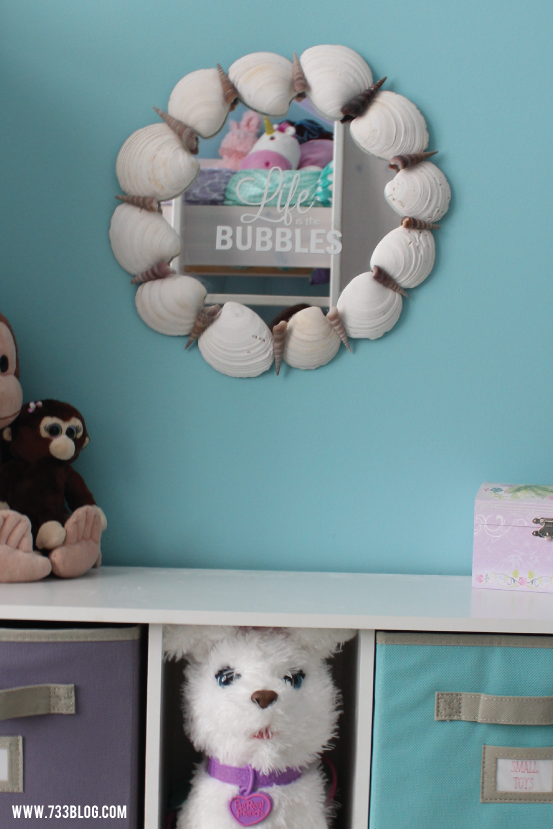 DIY Sea Shell Mirror