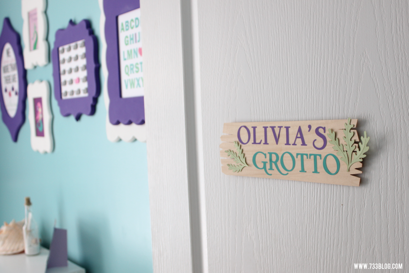 DIY Personalized Grotto Room Sign